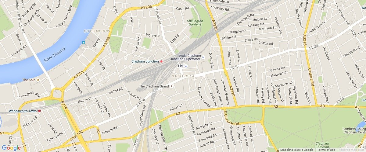 Battersea-map