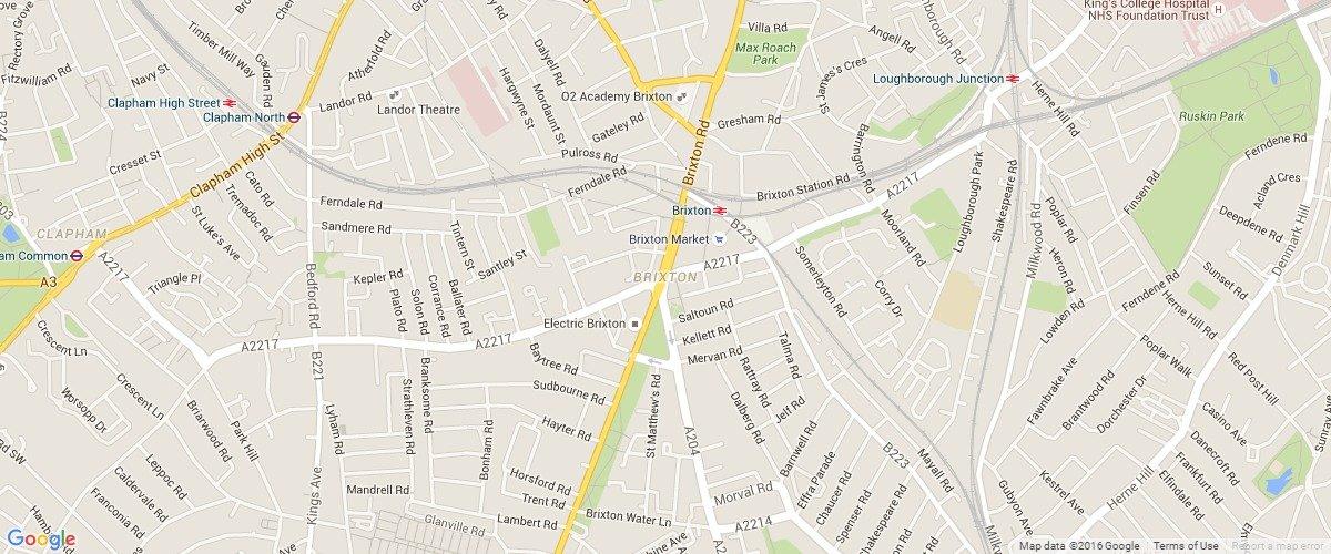 Brixton-map