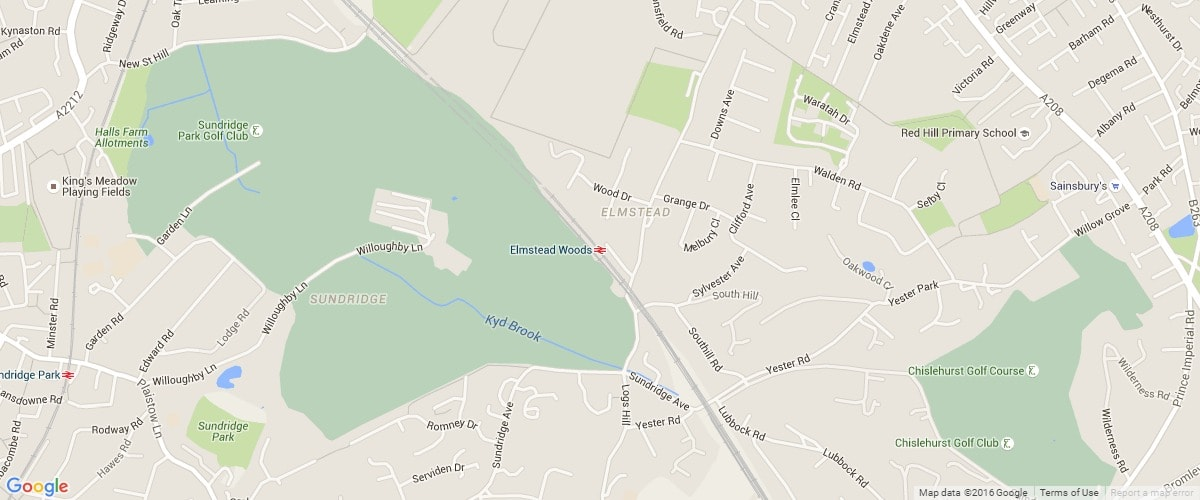 Elmstead-Woods-map